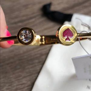 kate spade Jewelry - Kate Spade Jewelry Pink Spade bracelet
